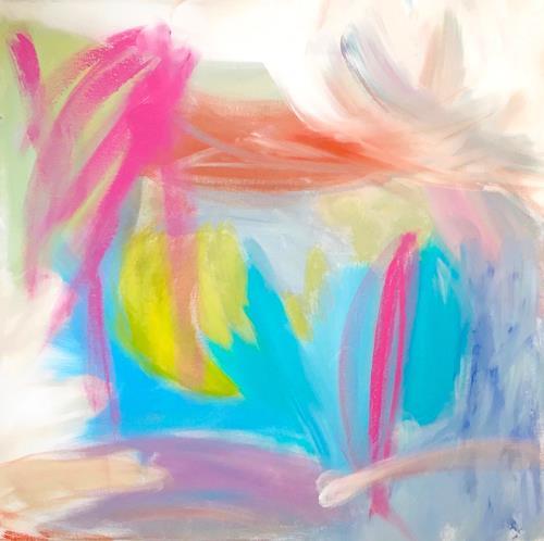 Christel Haag, Tahiti Dreaming, Abstraktes, Gegenwartskunst
