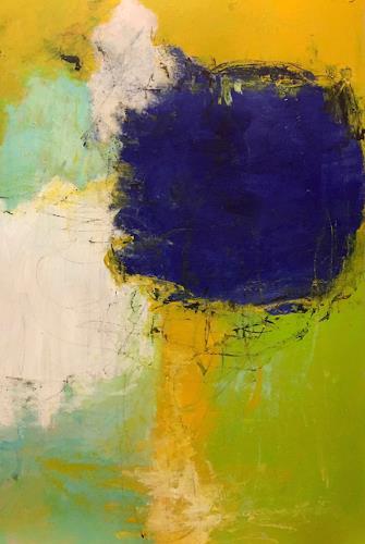 Christel Haag, Summer Day, Abstraktes, Gegenwartskunst