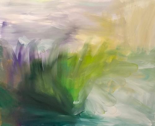 Christel Haag, Silence, Landschaft, Abstraktes, Gegenwartskunst
