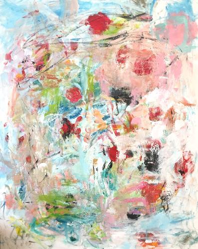 Christel Haag, Dive into Life, Pflanzen, Abstraktes, Gegenwartskunst