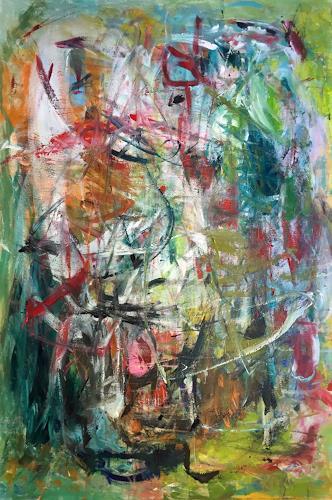 Christel Haag, Morning Vision, Abstraktes, Abstrakte Kunst
