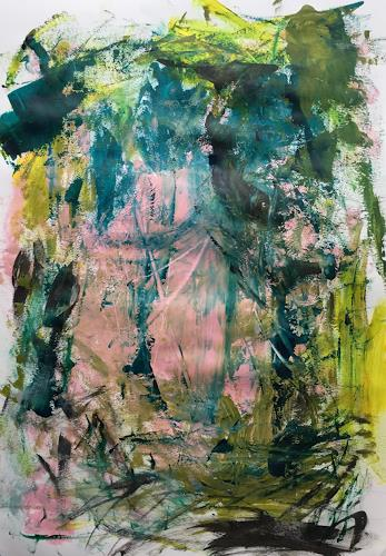 Christel Haag, #55, Abstraktes, Abstrakter Expressionismus