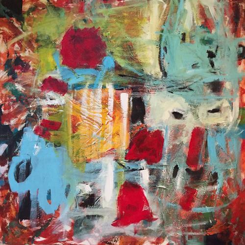 Christel Haag, Freiraum, Abstraktes, Gegenwartskunst, Expressionismus