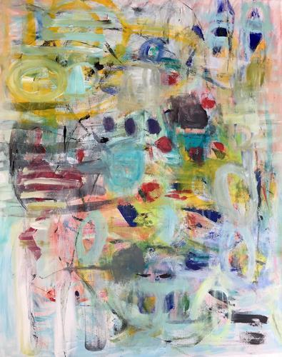 Christel Haag, Just Another Day, Abstraktes, Gegenwartskunst