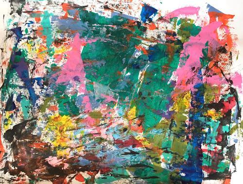 Christel Haag, Mystic Garden, Abstraktes, Gegenwartskunst