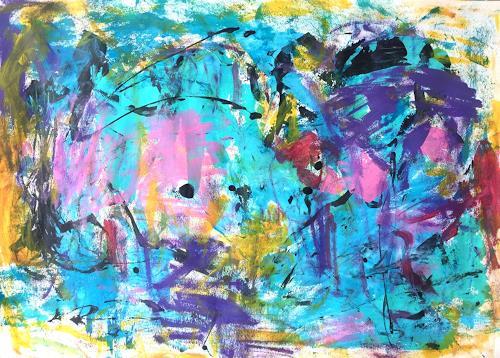 Christel Haag, Reaching for the Top, Abstraktes, Gegenwartskunst
