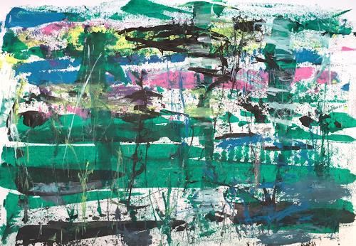 Christel Haag, Imagine, Abstraktes, Gegenwartskunst