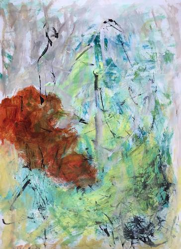 Christel Haag, Composition 2, Abstraktes, Gegenwartskunst