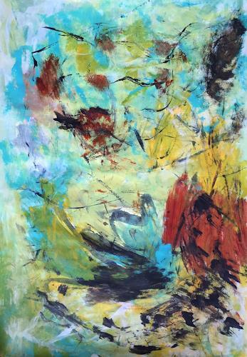 Christel Haag, Composition 1, Abstraktes, Gegenwartskunst