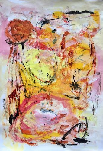 Christel Haag, Connected 1, Abstraktes, Gegenwartskunst