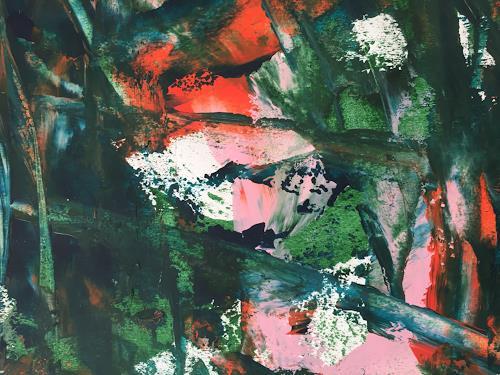 Christel Haag, Zauberwald, Abstraktes, Abstrakte Kunst, Abstrakter Expressionismus