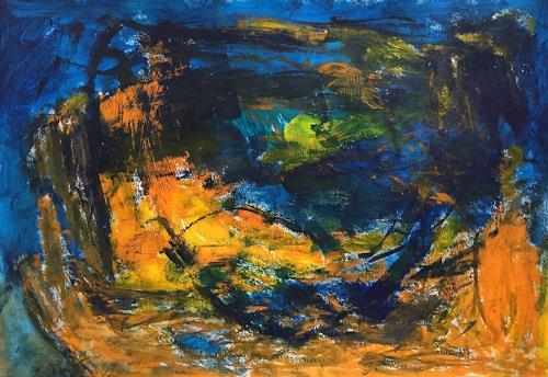 Christel Haag, Flow, Abstraktes, Gegenwartskunst