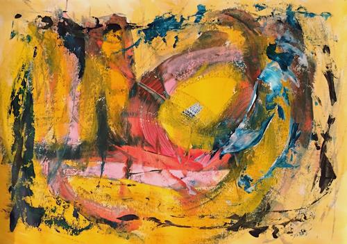 Christel Haag, Unknown Land, Abstraktes, Gegenwartskunst