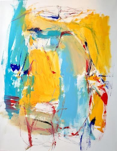 Christel Haag, Go for It 1, Abstraktes, Gegenwartskunst, Expressionismus