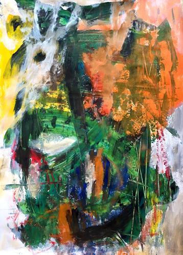 Christel Haag, Message for You 1, Abstraktes, Gegenwartskunst