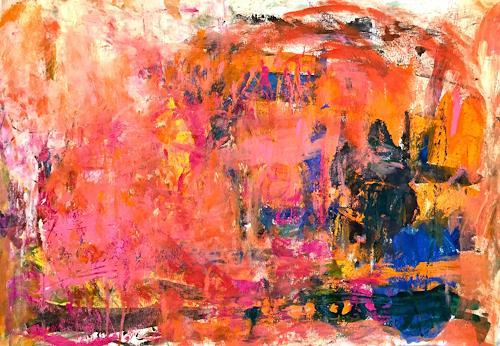 Christel Haag, Just Talking, Abstraktes, Gegenwartskunst