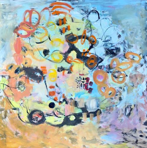Christel Haag, Hold Me Tight, Abstraktes, Gegenwartskunst