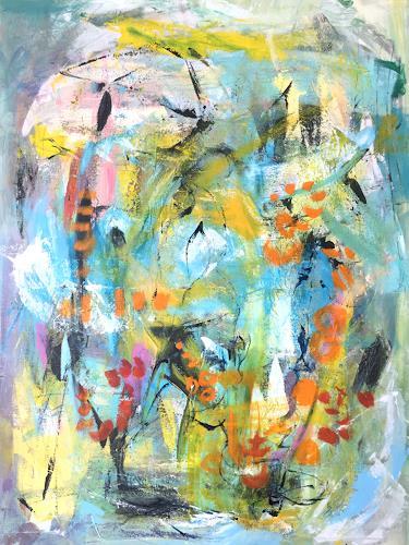 Christel Haag, Together, Abstraktes, Gegenwartskunst