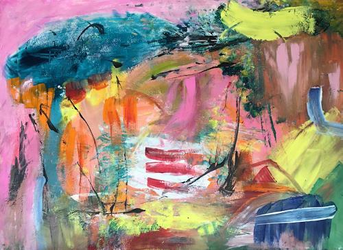 Christel Haag, Annie´s Puzzle, Abstraktes, Gegenwartskunst