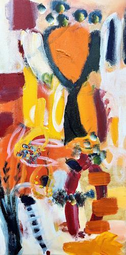 Christel Haag, A Summer´s Day, Abstraktes, Gegenwartskunst