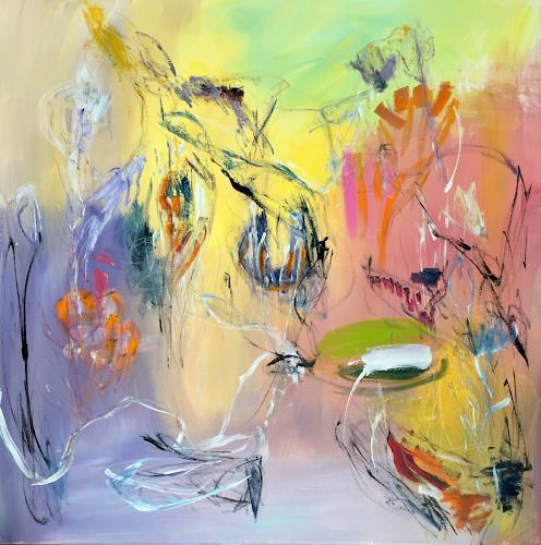 Christel Haag, Little Big Man, Abstraktes, Gegenwartskunst, Abstrakter Expressionismus
