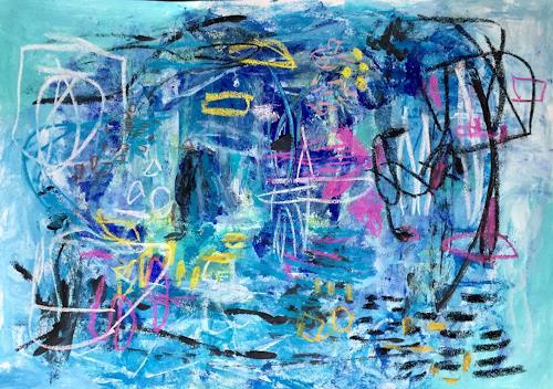 Christel Haag, Fresh as a Morning Breeze, Abstraktes, Gegenwartskunst