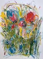 Christel-Haag-Abstraktes-Pflanzen-Blumen-Gegenwartskunst-Gegenwartskunst