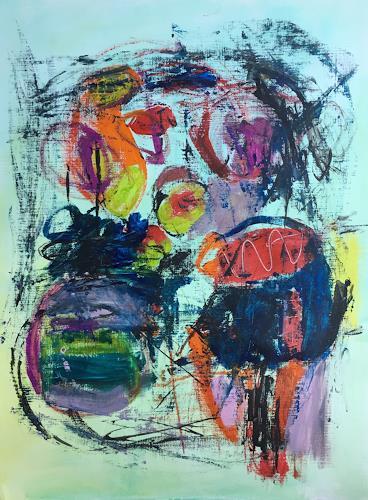 Christel Haag, Save the date for me, Abstraktes, Gegenwartskunst