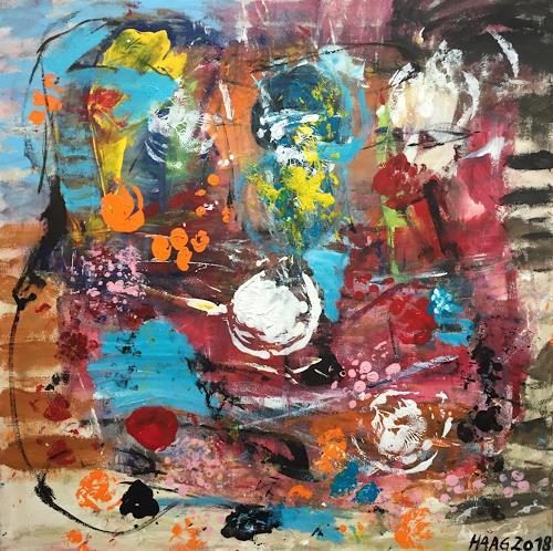 Christel Haag, Call it Future, Abstraktes, Gegenwartskunst, Abstrakter Expressionismus