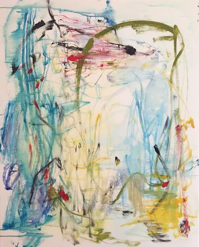 Christel Haag, It will be alright, Abstraktes, Landschaft, Gegenwartskunst