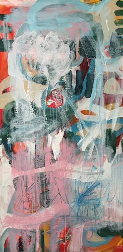Christel Haag, African Home, Abstraktes, Mythologie, Gegenwartskunst, Abstrakter Expressionismus