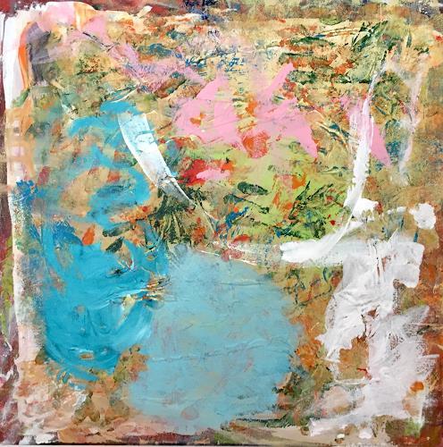 Christel Haag, Elfentanz, Abstraktes, Natur, Gegenwartskunst, Abstrakter Expressionismus