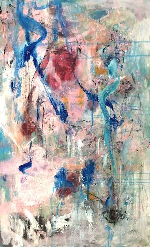 Christel Haag, Stay a little longer, Pflanzen, Abstraktes, Gegenwartskunst