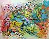 Christel Haag, You are my Butterfly, Abstraktes, Fantasie, Gegenwartskunst