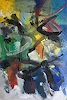 Christel Haag, The Big Opening, Abstraktes, Gegenwartskunst