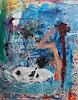 Christel Haag, Nagano, Abstraktes, Fantasie, Gegenwartskunst