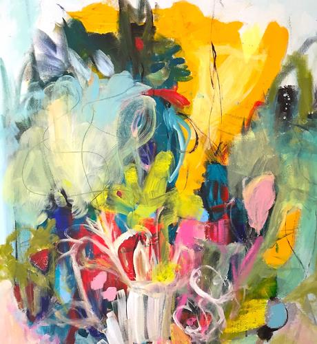 Christel Haag, Organic Dream, Abstraktes, Natur, Abstrakte Kunst, Expressionismus