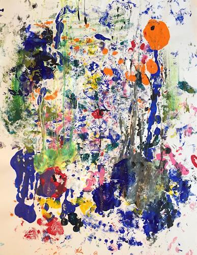 Christel Haag, Stay Close, Abstraktes, Gegenwartskunst, Expressionismus