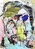 Christel Haag, Meet My Friends 2, Abstraktes, Gegenwartskunst