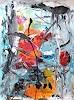Christel Haag, Es gibt viel zu erzählen, Abstraktes, Gegenwartskunst