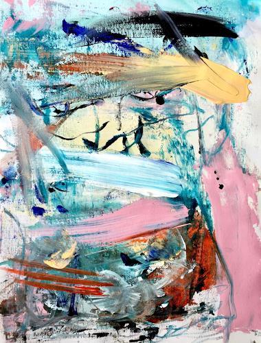 Christel Haag, More than a Romance, Abstraktes, Gegenwartskunst, Abstrakter Expressionismus