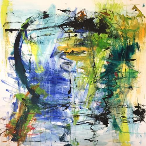 Christel Haag, Nicht von dieser Welt, Abstraktes, Gegenwartskunst