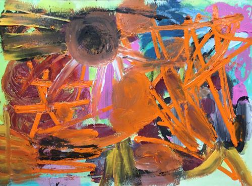 Christel Haag, Starting with a Dance, Abstraktes, Gegenwartskunst