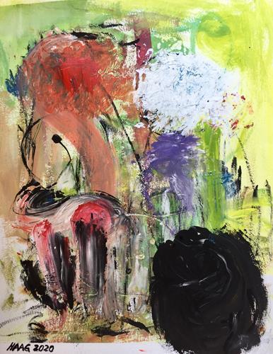 Christel Haag, Discovery Tour, Abstraktes, Gegenwartskunst, Abstrakter Expressionismus
