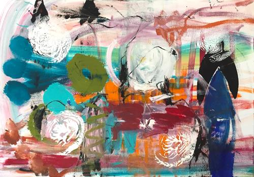Christel Haag, Wonderland, Abstraktes, Gegenwartskunst