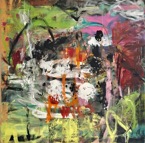 Christel Haag, Samtpfötchen, Abstraktes, Gegenwartskunst