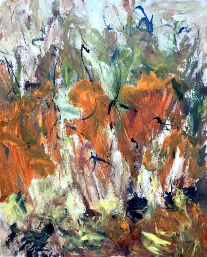 Christel Haag, Herbstgefühle, Abstraktes, Gegenwartskunst
