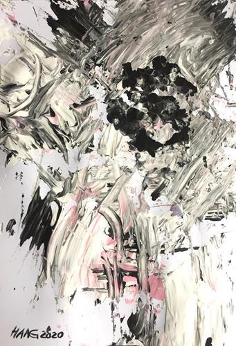 Christel Haag, Eruption 2, Abstraktes, Gegenwartskunst, Abstrakter Expressionismus