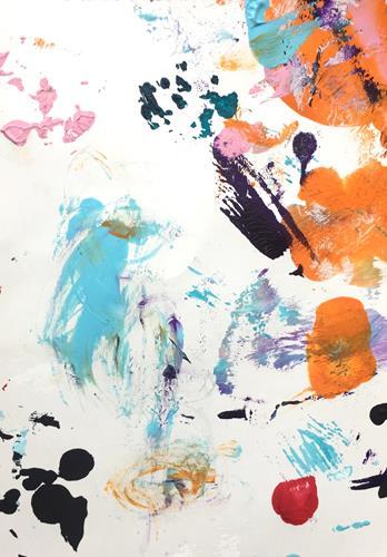 Christel Haag, Playful Days 2, Abstraktes, Gegenwartskunst