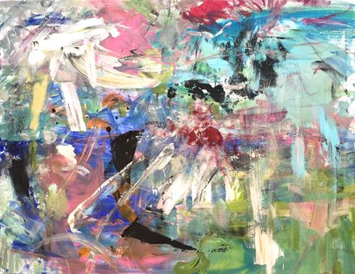 Christel Haag, Invitation, Abstraktes, Gegenwartskunst